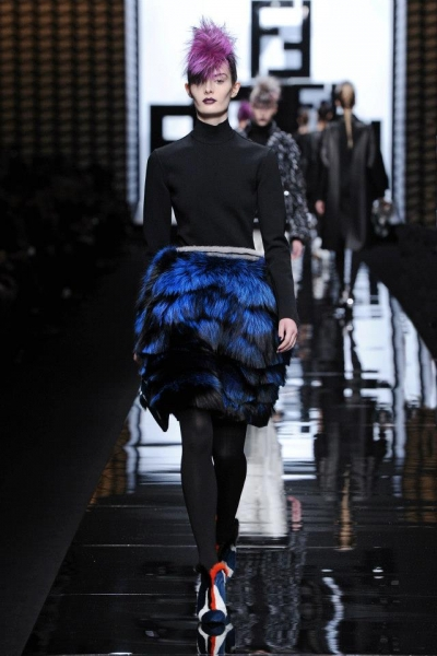 Fendi Fall/Winter 2013-14 HA VINTO!