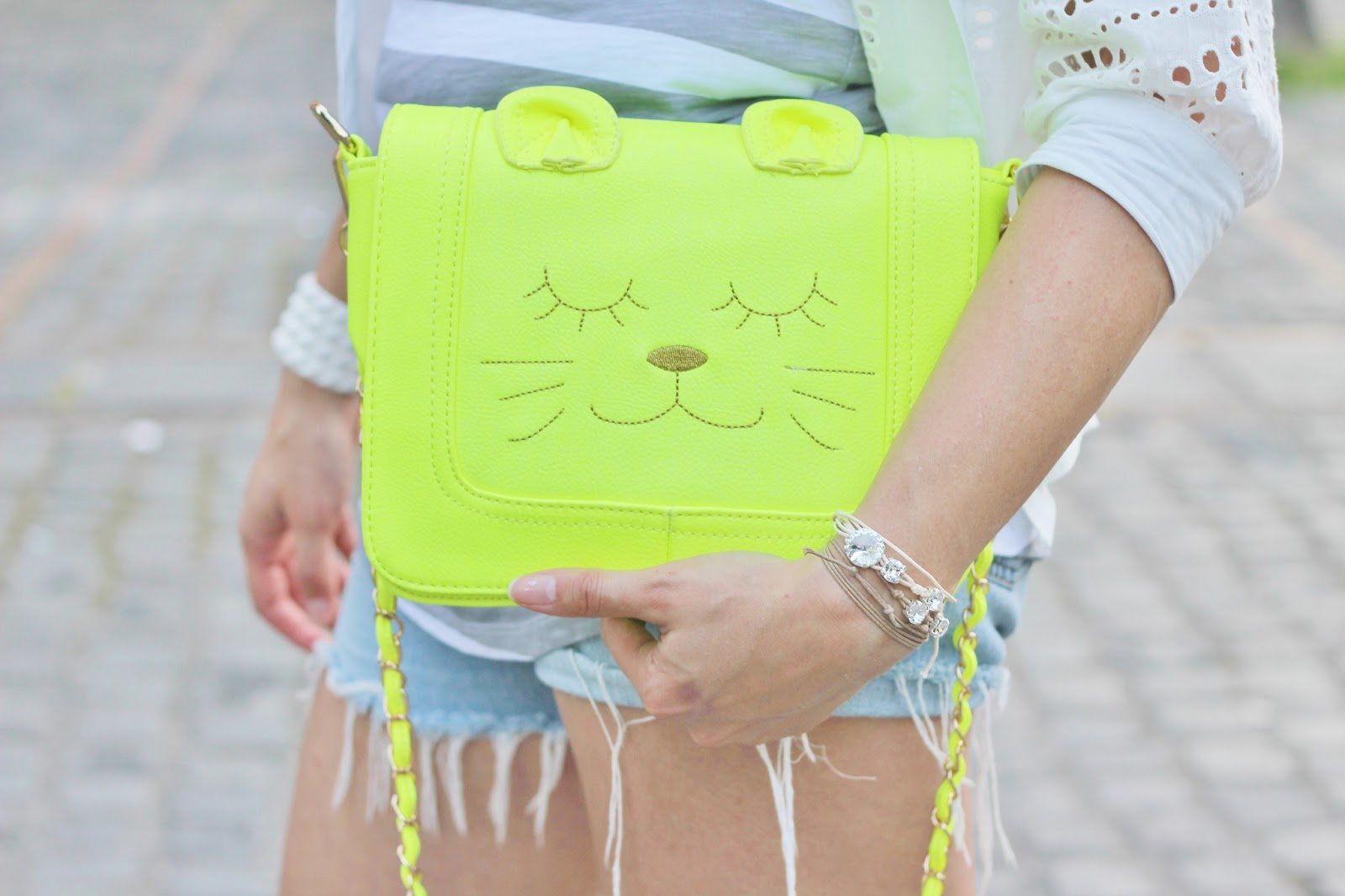 Una borsa gatto! ( Cat face satchel)