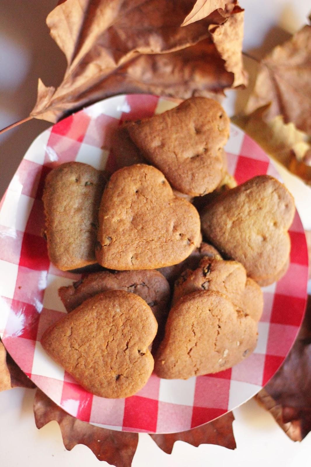 Cookies alle castagne e cannella